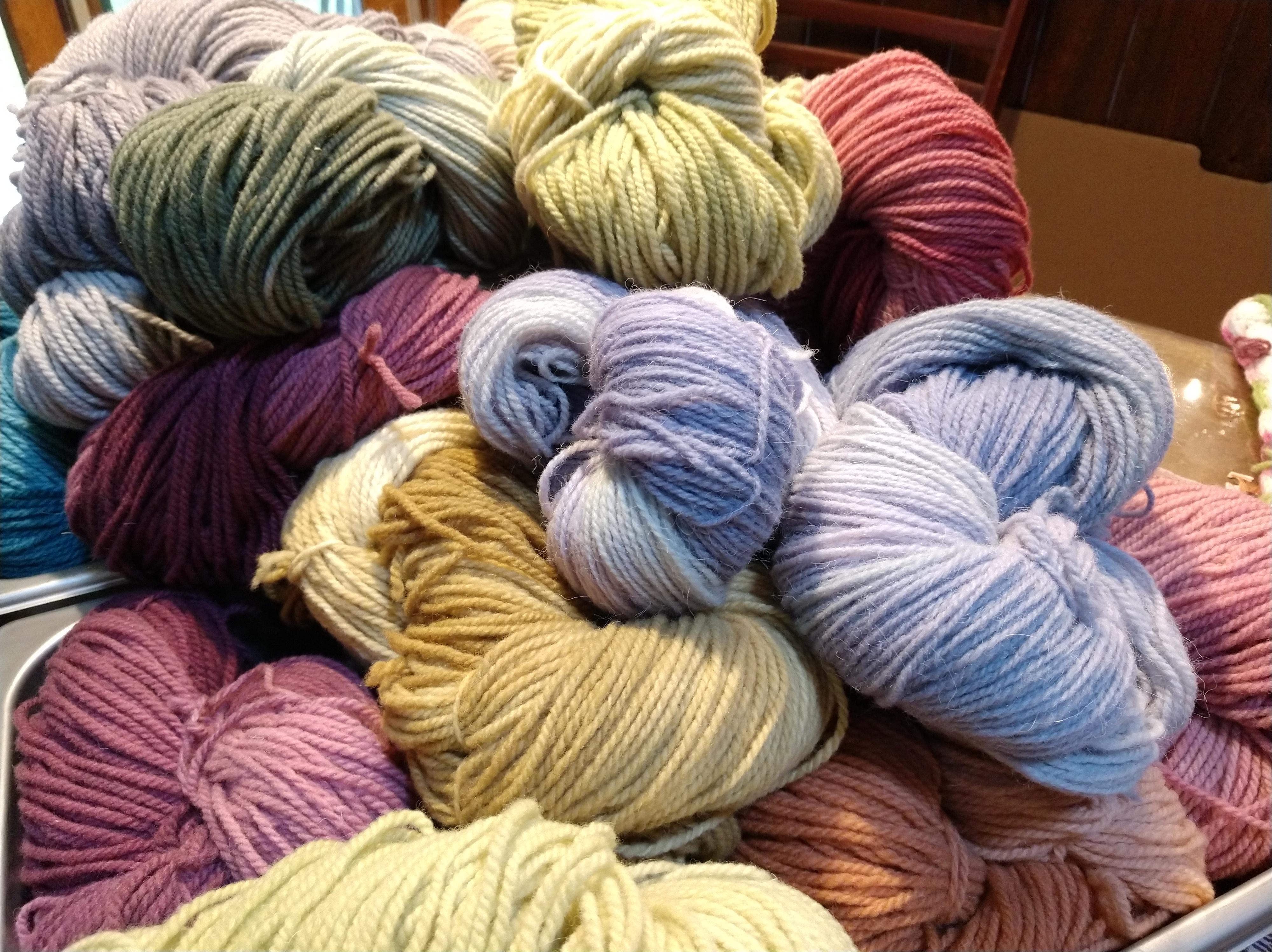 Alpaca Vegatable-Dyed Yarn